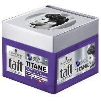 Laque Fixatrice - Spray Fixateur SCHWARZKOPF Gel Coiffant Taft Titane Power Gel - Pot de 250 ml