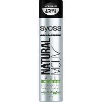 Laque Fixatrice - Spray Fixateur SYOSS Laque Natural Mouv Tenue Tres Forte - 400 ml