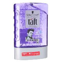 Laque Fixatrice - Spray Fixateur Taft Gel coiffant power gel tube titane 300ml