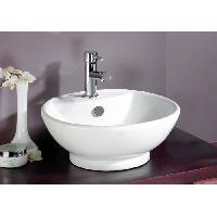Lavabo - Vasque Vasque en céramique Portofino Blanc - Aqua+