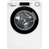 Lave-linge CANDY - HGB 1411THB7 - Lave-linge frontal - 11kg - 1400 trs-min - A+++ - Blanc