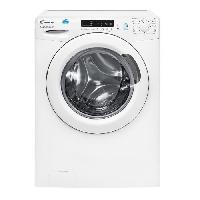 Lave-linge CANDY CS1072D1-1-S - Lave-linge frontal - 7kg - Essorage 1000 tours - A+ - Connecte - Blanc