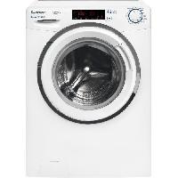 Lave-linge CANDY HGS 1310TH3Q-1-S - Lave linge frontal - 10kg - 1300 tours - min - A+++ - Moteur induction
