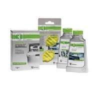 Lave-vaisselle 902979457-Kit entretien Lave vaisselle-1 degraissant-1 detartrant-1 paquet de sel regenerant-2 desodorisants