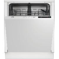 Lave-vaisselle BEKO - LVI72F -Lave-vaisselle encastrable - 13 couverts - 46dB - A++ - Larg.60cm