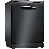Lave-vaisselle BOSCH SMS46JB17E - LAVE-VAISSELLE - 13 couverts -60 cm - 44dB - A++ - Noir