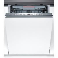 Lave-vaisselle BOSCH SMV46KX01E - Lave vaisselle encastrable - 13 couverts - 46dB - A++ - Larg 60cm - Moteur induction