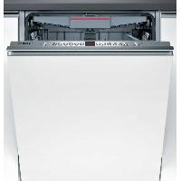 Lave-vaisselle BOSCH SMV46MX03E-Lave vaisselle tout encastrable-14 couverts-Silencieux 44 dB-A++-Larg 60 cm-Moteur EcoSilence Drive