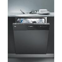 Lave-vaisselle CDS2D35N - Lave vaisselle encastrable - 13 couverts - 46 dB - A++ - Larg 60 cm - Bandeau noir