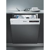 Lave-vaisselle CDS2D35W - Lave vaisselle encastrable - 13 couverts - 46 dB - A++ - Larg 60 cm - Bandeau blanc