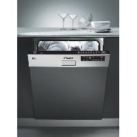 Lave-vaisselle CDS 2D36X-47-Lave vaisselle encastrable bandeau inox-13 couverts-47 dB-A++-L 60 cm