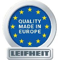 Lave-vitre Electrique LEIFHEIT 51001 Kit Aspirateur lave-vitres Dry et Clean- Manche integre - Aspiration a 360o - 28 cm