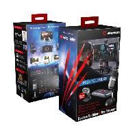 Lecteur - Enregistreur Video AVERMEDIA Pack Youtuber-Pro Streamer - Noir - Boîtier de Capture Vidéo LGP Lite GL310 Aucune