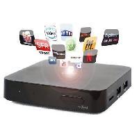 Lecteur - Enregistreur Video CGV 70071 Boitier TV Android 4K 7.1- Noir