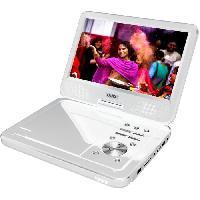 Lecteur - Enregistreur Video D-JIX PVS1006-20 Blanc Lecteur DVD portable 10 rotatif - Blanc Djix