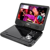 """Lecteur - Enregistreur Video D-JIX PVS1006-20 Lecteur DVD portable 10"""" rotatif - Noir - Djix"""