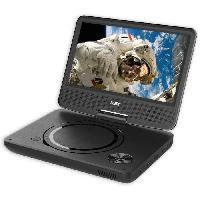 Lecteur - Enregistreur Video D-JIX PVS906-20 Lecteur DVD portable 9 rotatif - Noir