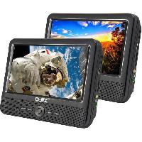 Lecteur - Enregistreur Video D-JIX PVS 906-70DP Double Lecteur DVD portable 9''+ supports appui-tete - Djix