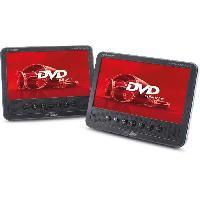 Lecteur - Enregistreur Video Double Lecteur DVD portable ecran TFT 7 pouces - Caliber