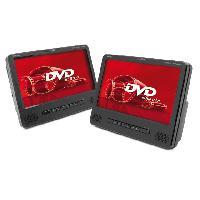 Lecteur - Enregistreur Video Ensemble lecteurs DVD portables ecran TFT 9Pouces - LED Caliber