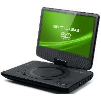 Lecteur - Enregistreur Video MUSE M970DP Lecteur DVD portable - Écran 9 pivotant a 180° et rabattable - Port USB - Noir