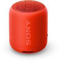 Lecteur - Enregistreur Video Sony SRSXB12R.CE7 Enceinte portable - Bluetooth - Extra Bass - Waterproof - 16h d'autonomie - Rouge