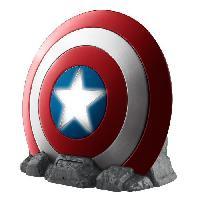 Lecteur Cd - Radio - Boombox CAPTAIN AMERICA Enceinte Bluetooth Bouclier Avengers