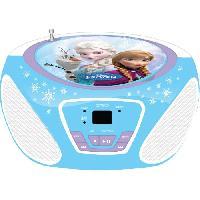 Lecteur Cd - Radio - Boombox LA REINE DES NEIGES CD Boombox Frozen