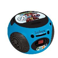 Lecteur Cd - Radio - Boombox LEXIBOOK -AVENGERS - Lecteur CD et Radio Enfant