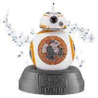 Lecteur Cd - Radio - Boombox STAR WARS Enceinte Bluetooth BB-8