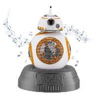 Lecteur Cd - Radio - Boombox STAR WARS Enceinte Bluetooth BB8