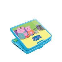 Lecteur Dvd Enfant LEXIBOOK - PEPPA PIG - Lecteur DVD Enfant Portable