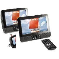 Lecteur Dvd Portable 2 Ecrans lecteur DVD - 7 Pouces - 12V - Dvd Vcb Svcd Mpeg4 Entree Usb Sd - Generique