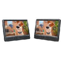 Lecteur Dvd Portable Double lecteur DVD double ecran MUSE M-1095 CVB 10p