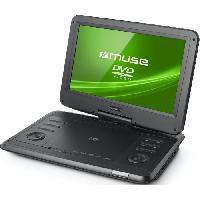 Lecteur Dvd Portable MUSE M1270DP Lecteur DVD portable - Ecran 11.6 pivotant a 180o et rabattable - Noir