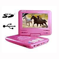 Lecteur Dvd Portable Takara VR132P Lecteur DVD Portable Rose