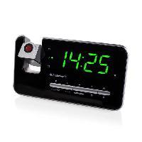 Lecteur Musique AUDIOSONIC CL-1492 Radio Réveil Projecteur - Réglage de la luminosité