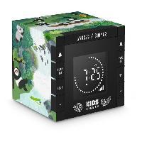 Lecteur Musique BIGBEN R70PPANDA  Reveil Cube Projecteur Decor Panda