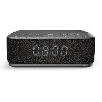 Lecteur Musique BIG BEN RR140IG Radio réveil avec chargeur sans fil par Induction - USB - Gris