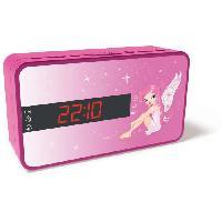 Lecteur Musique BIGBEN RR15FAIRY Radio Réveil - Décor fairy