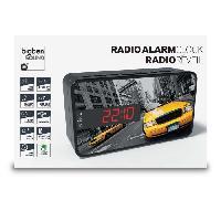 Lecteur Musique BIGBEN RR15TAXI Radio Réveil - Décor taxi