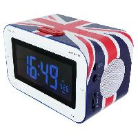 Lecteur Musique BIGBEN RR30CG Radio Réveil avec affichage LED - United Kingdom
