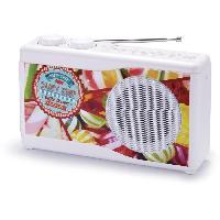 Lecteur Musique BIGBEN TR23CANDY Radio portable - Tuner analogique - Candy Shop