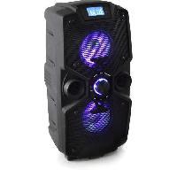 Lecteur Musique CONTINENTAL EDISON Chaîne Hi-Fi Bluetooth - High Power Led avec Micro