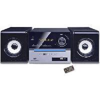Lecteur Musique CONTINENTAL EDISON Chaine Hifi Bluetooth Lecteur CD Radio FM USB