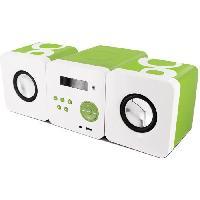 Lecteur Musique GULLI-477180-Micro-chaîne MP3 12 W avec port USB. FM. prise casque