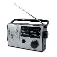 Lecteur Musique HPG 317R Radio portable AM FM - Look retro Caliber
