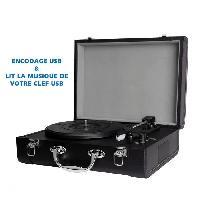 Lecteur Musique INOVALEY RETRO20 Chaine retro tourne disque avec encodage USB et Bluetooth Inovalley