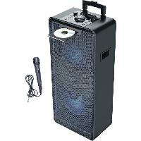 Lecteur Musique INOVALLEY MS04XXL - Systeme Audio High Power - 1000 Watts - Lecteur CD/MP3 - Bluetooth - Lumieres LED - USB - 2 entrées Micro