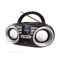 Lecteur Musique INOVALLEY R102-2 Boom box - 2x5 W - CD - FM - MP3